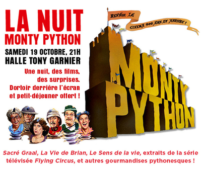 Nuit Monty Python