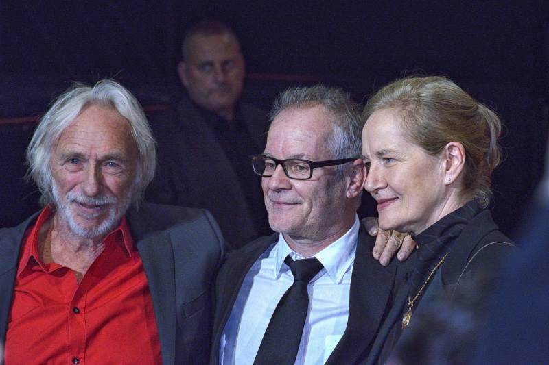 Pierre Richard, Thierry Frémaux & Dominique Sanda