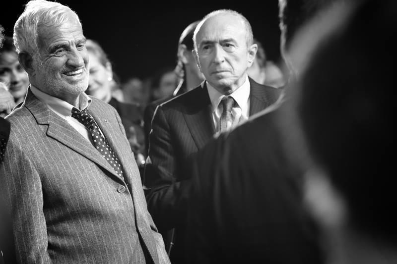 Jean-Paul Belmondo & Gérard Collomb