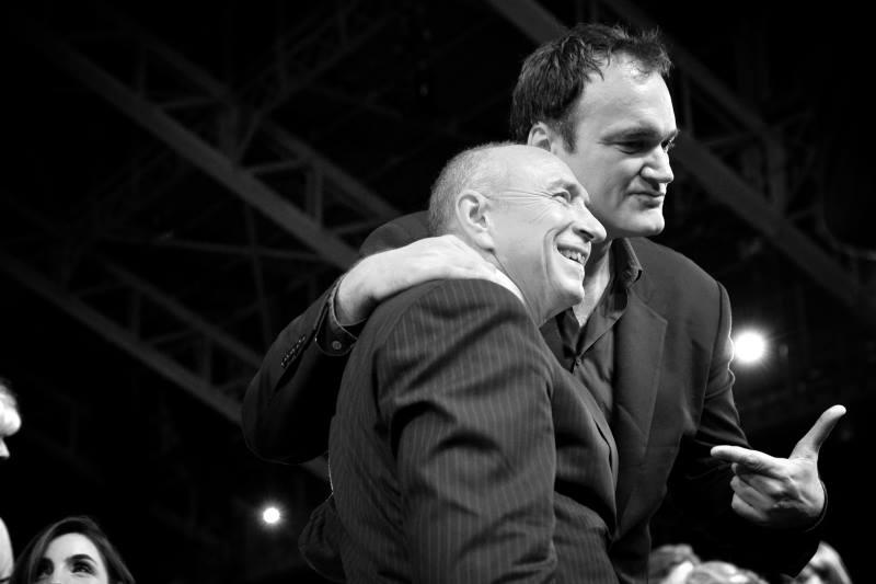 Gérard Collomb & Quentin Tarantino