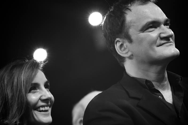 Clotilde Courau & Quentin Tarantino