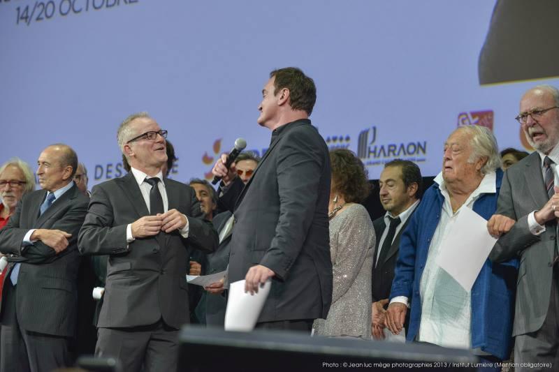 Thierry Frémaux & Quentin Tarantino