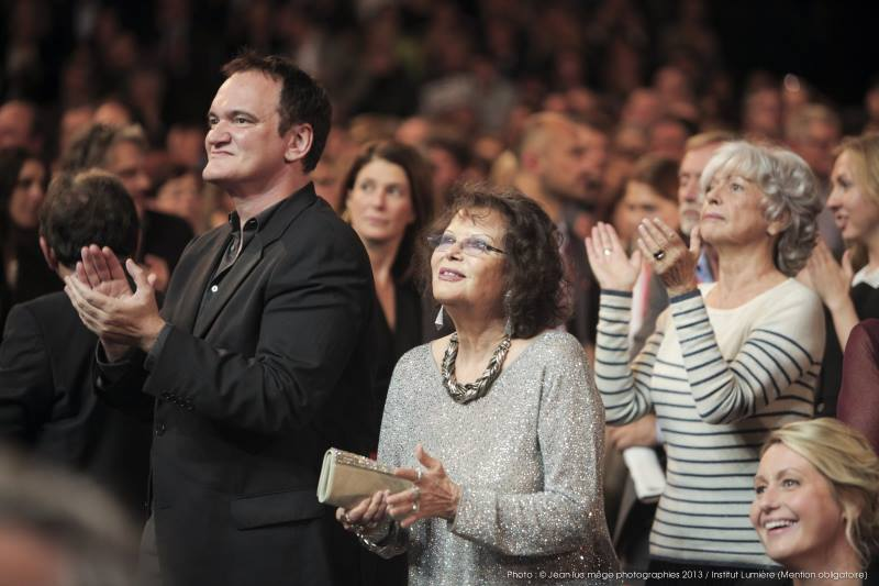 Quentin Tarantino & Claudia Cardinale
