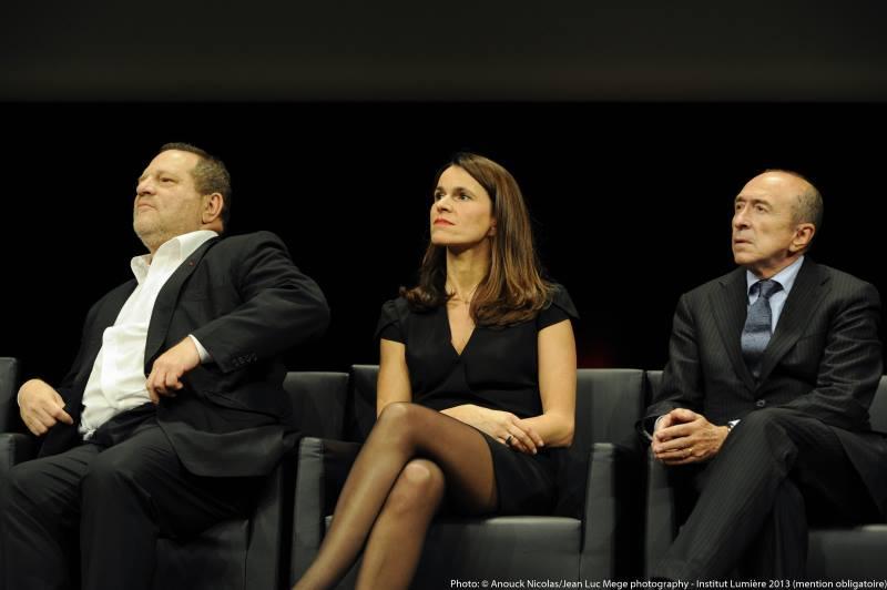 Harvey Weinstein, Aurélie Filippetti et Gérard Collomb