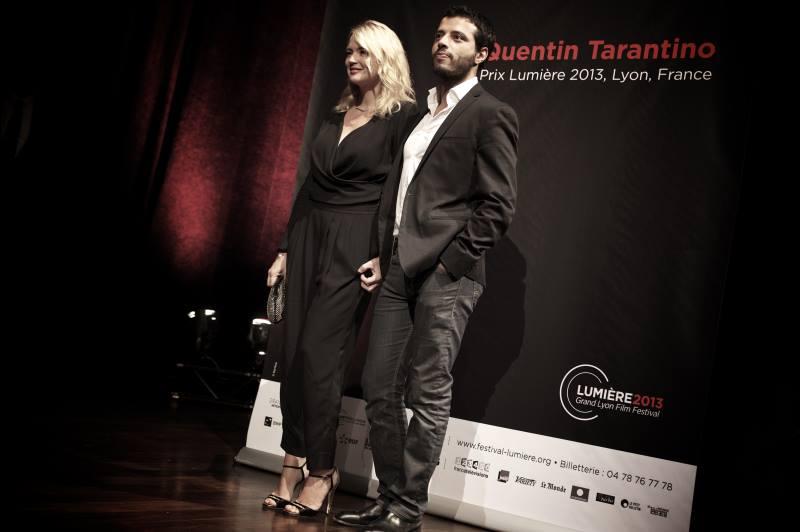 Virginie Efira et Mabrouk El Mechri