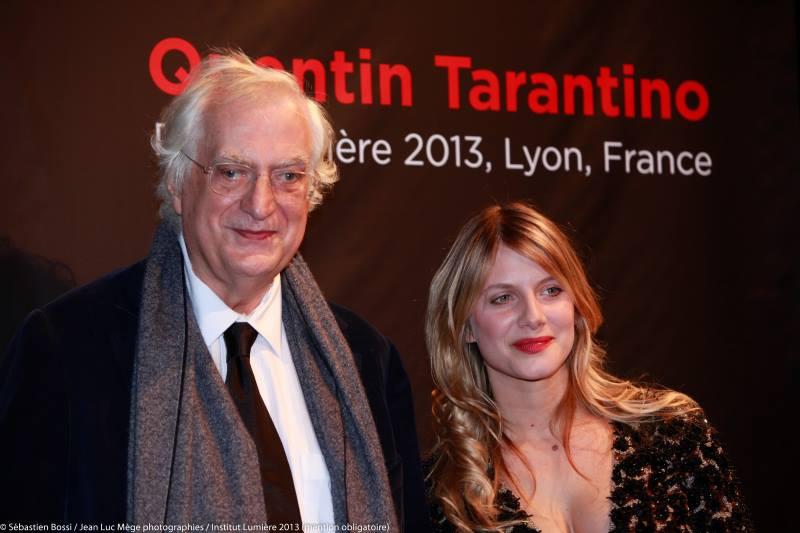 Bertrand Tavernier et Mélanie Laurent